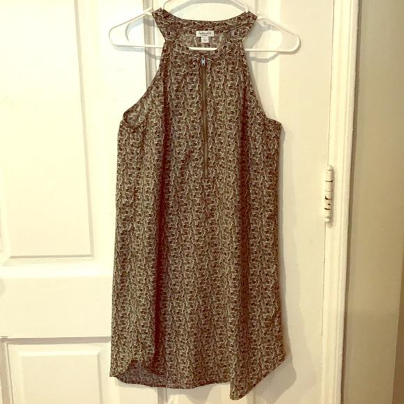 Splendid Dresses & Skirts - Splendid Zebra Print Zip Dress
